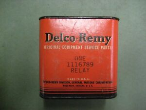New Delco Remy 6 Volt Universal Headlight Relay 1116789 1932 1954 Gm Car Truck