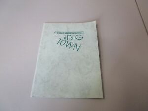 MOVIE PRESS KIT THE BIG TOWN MATT DILLON  MOVIE PHOTOS WITH INFORMATION BOOKLETS $99.00