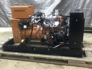 30 Kw Generator Natural Gas Propane Only 168 Hrs 120 240 Volt 30 Kw Generator