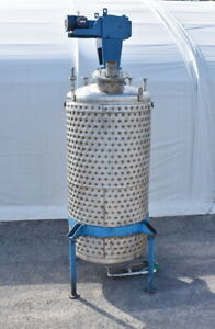 750 Gallon Jacketed Stainless Steel Mix Tank