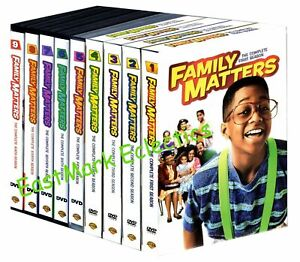 Family Matters: The Complete Series 27 DVDs Seasons 1 9 1 2 3 4 5 6 7 8 9 $50.95