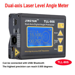 Mini High Accuracy Level Protractor Inclinometer Laser Level Angle Gauge Finder