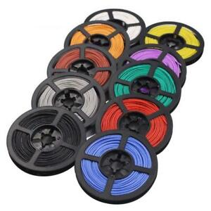 Silicone Cable Flexible Wire 8 10 12 14 16 18 20 22 24 26 30 Awg Various Colours