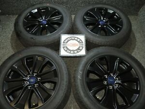 19 Ford F150 F 150 Fx4 Black 20 Factory Oe Wheels Tires Hankook At P275 55r20