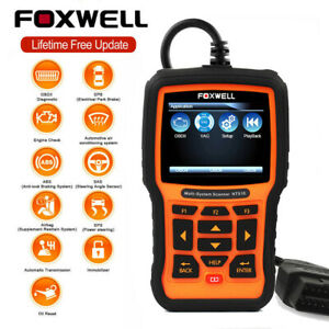 For Audi Volkswagen Obd2 Code Reader Diagnostic Scanner Abs Srs Full System Tool