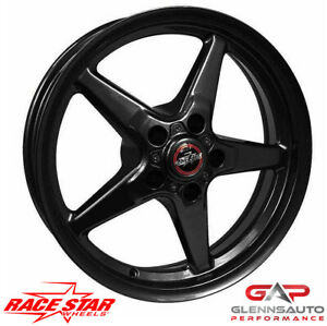 Race Star 17x7 92 770147b For 1979 2015 Mustang 5 Lug 92 Bracket Racer Black