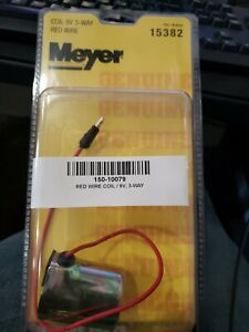 Coil 9v 3 Way Red Wire 15382c 15382 Genuine Meyer Snow Plow Part Meyer Plow Part