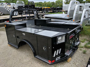 Cm Tm Utility Body Truck Bed W Tool Boxes Gooseneck Ford Dually Longbed 263523