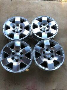 17 Toyota 4runner Tacoma Fj Cruiser Trail Trd Oem Factory Stock Wheels Rims