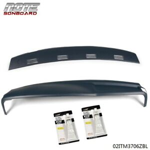For 2002 2005 Dodge Ram 1500 2500 3500 Two Piece Dash Cover Overlay Kit