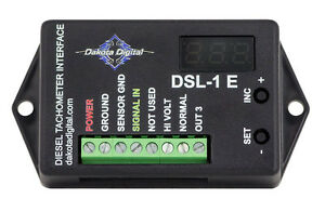 Dakota Digital Universal Diesel Tach Adapter Alternator Interface Unit Dsl 1e