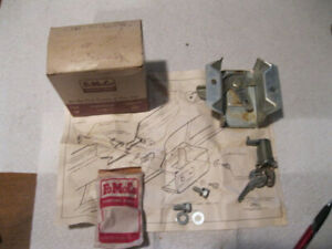 63 64 Ford Fairlane Station Wagon Tailgate Lock Assembly C30z 7147026 a2 Nos