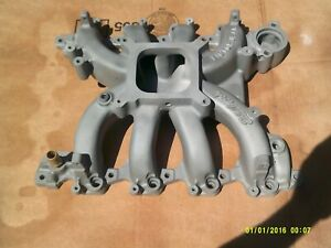 Intake Manifold Victor Jr For Ford 4 6l Competition Efi Flange Single Plane Sohc