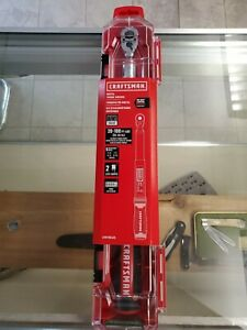 Digital 3 8 Craftsman Degrees Torque Wrench Brand New In Case