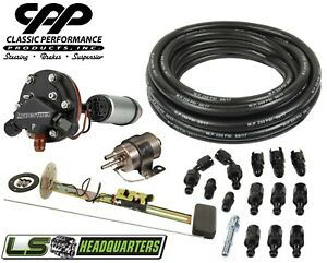 Efi Ls Fuel Injection Gas Tank Conversion Installation Kit Hyperfuel Pump 90ohm