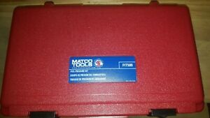 Matco Tools Fit500 Fuel Pressure Test Kit