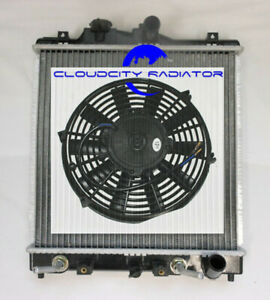 Radiator For 1992 2000 Honda Civic 2001 Acural El 1 5 1 6 L4 95 96 97 98 Fan