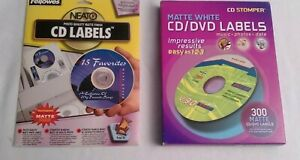 Avery 300 Count Cd dvd Labels Fellows Labels Bundle S