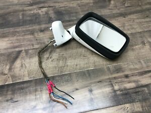 77 87 Porsche 924 944 Passenger Side Power Mirror White Right
