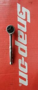 Snap On Tools 1 4 Drive Round Head Fine Tooth Ratchet Tm739 Ships Free