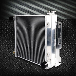 Aluminum Radiator For 1987 1995 Jeep Wrangler Tj Yj V8 Conversion 1997 2002