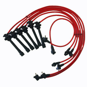 Ignition Cable Spark Plug Wire Set Leads For Toyota Land Cruiser 1993 1997 4 5l