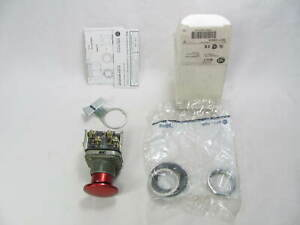 Allen Bradley Push Button Switch 800t d6qa Ser T Red New In Box Nib