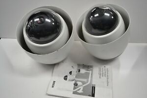Lot Of 2 Bosch Ptz Dome Security Camera Unused
