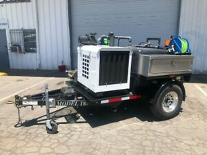 2015 Mongoose Trailer Sewer Jetter Diesel Powered