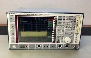 Rohde Schwarz Fsea20 Spectrum Analyzer 9 Khz 3 5 Ghz Calibrated Loaded Opts