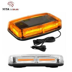 Yitamotor Amber Roof Top Led Emergency Warning Strobe Light Truck Beacon Lights