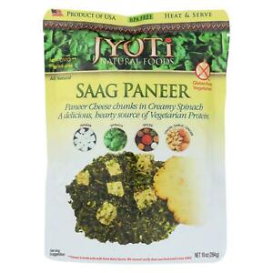 Jyoti Cuisine India Saag Paneer Case Of 6 10 Oz