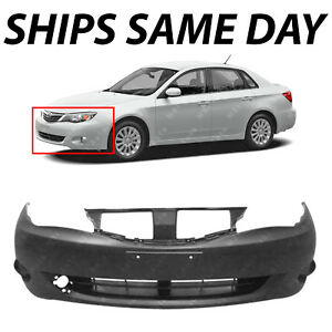 New Primered Front Bumper Cover Replacement For 2008 2011 Subaru Impreza Wrx