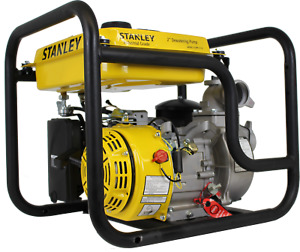 Stanley Water Pump 3 Gas Engine Driven 14 000 Gallon Per Hour New St3wplt