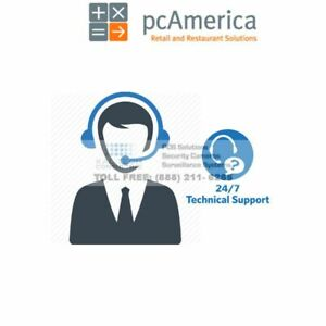 Pc America Cash Register Express Restaurant Pro Express 24 7 Technical Support