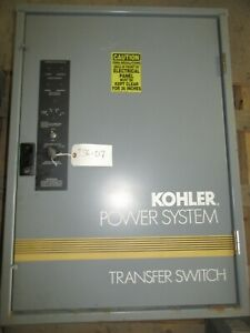 150 Amp Kohler Automatic Transfer Switch Gls 168341 0150 208 Vac Three Phase 4 W