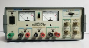 Tektronix Cps250 Triple Output Regulated Variable Linear Power Supply Tested