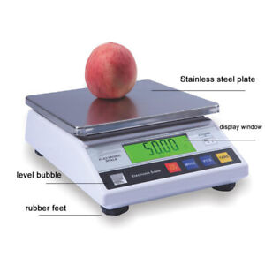 Intbuying Industrial Counting Scales Food Scale Medicine Shipping