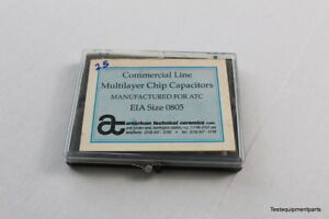 Atc Multilayer Chip Capacitor Kit Eia Size 0805