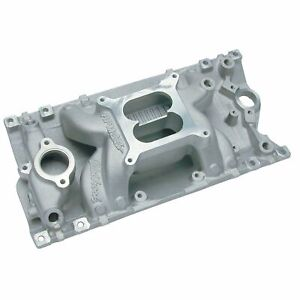 Edelbrock 7516 Performer Rpm Air Gap Small Block Chevy Vortec Intake Manifold