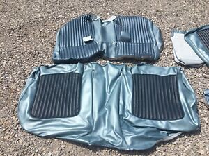 Distinctive Ind 1968 Mustang Fastback Standard Bench Front Vinyl Seat Covers