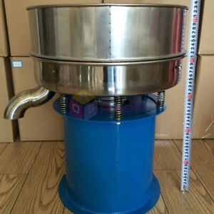 Vibrating Sieve Screen Powder Sifting Machine Electrostatic Screening Particles