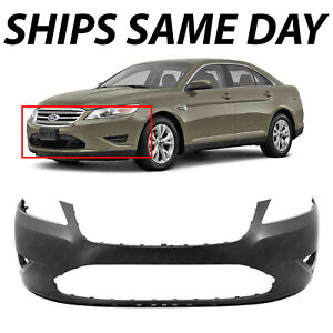 New Primered Front Bumper Cover For 2010 2012 Ford Taurus Se Sel Limited Sho