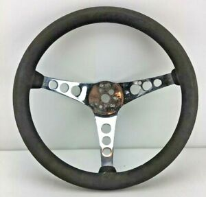 Vintage Superior Performance The 500 14 5 Rubber Steering Wheel Fast Ship M6