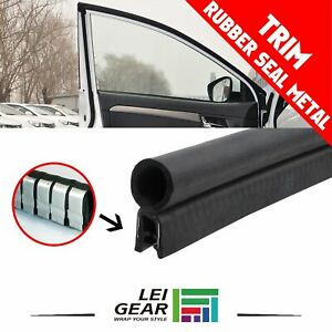 16ft Cars Rubber Doors Seal Pvc Metal Trim Aegis Auto Window Trunk Weatherstrip