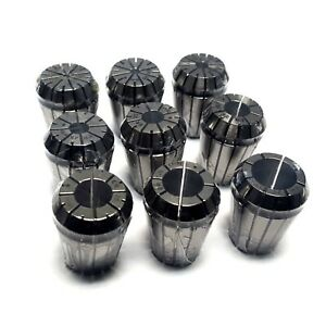 Dz Brand Er25 Collet Set 9 piece