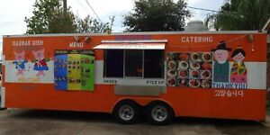 8 2x24 Enclosed Mobile Concession Kitchen Food Trailer fully Loaded