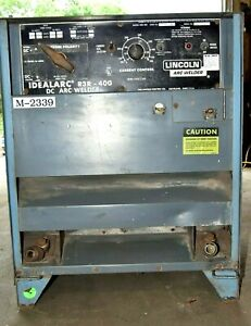 Lincoln Idealarc Dc Arc Welder R3r 400