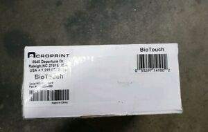 Acroprint Biotouch Automated Biometric Time Recorder 6 X 5 X 1 1 2 Used