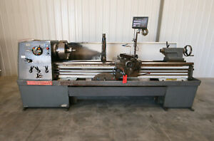 13868 Clausing Colchester 17 X 80 Geared Head Lathe 3 Spindle Bore